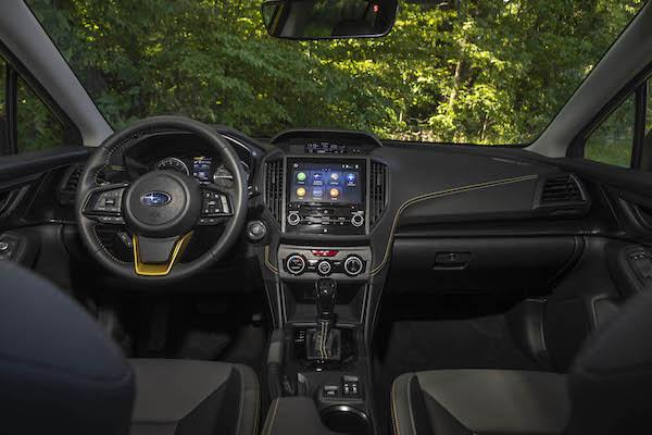 2021 Subaru Crosstrek Sport 04 interior