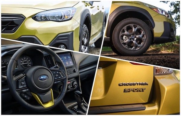 2021 Subaru Crosstrek collage