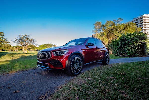 2021 Mercedes Benz GLC 43